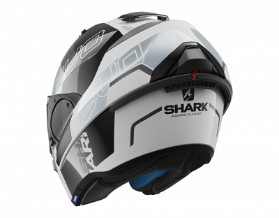 CASCO SHARK EVO-ONE 2 SLASHER BLANCO/GRIS