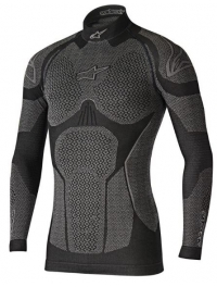 CAMISETA ALPINESTARS RIDE TECH INVIERNO NEGRO/GRIS