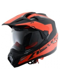 CASCO ASTONE CROSS TOURER ADVENTURE NARANJA MATE