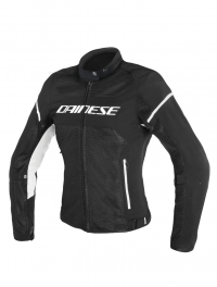 CHAQUETA DAINESE AIR FRAME D1 MUJER NEGRO/BLANCO