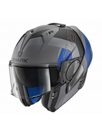 CASCO SHARK EVO-ONE 2 SLASHER MAT AZUL