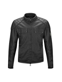 CHAQUETA BELSTAFF X MAX RACING COTTON NEGRO