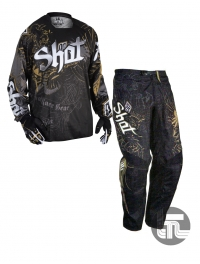 CONJUNTO SHOT CONTACT OLD SCHOOL NEGRO