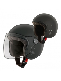 CASCO CABERG FREE RIDE NEGRO MATE