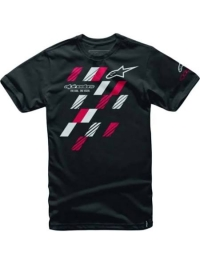 CAMISETA ALPINESTARS GP GLASS NEGRO