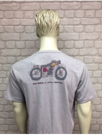 CAMISETAS ROYAL ENFIELD GRIS
